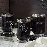 Personalized Glass Coffee Mugs - Classic Celebrations - 18563