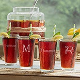 Custom Engraved Drinking Glasses - Classic Celebrations - 18565