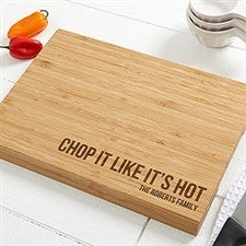 Custom Bamboo Cutting Board - Kitchen Expressions - 18595