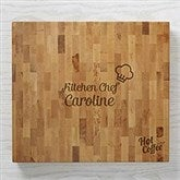 Personalized Business Logo Butcher Block Cutting Boards - 18604