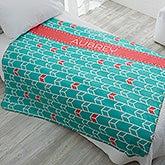 Personalized Sherpa Blankets - Geometric Patterns - 18614