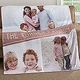 Personalized Fleece Blankets - Photo Collage - 18619