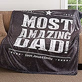 Personalized Fleece Blankets For Men - 18628