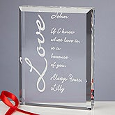 Because of You Sculpted Keepsake - Choose Style - 1863
