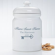 Personalized Cookie Jar - Key To Our Home - 18637