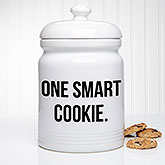 Kitchen Expressions Personalized Cookie Jar - 18638