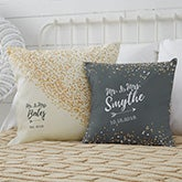 Personalized Throw Pillows - Sparking Love - 18649