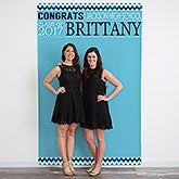 Personalized Photo Backdrop - Graduation Party - 18658