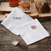 Custom Mens Embroidered Handkerchief - 18684
