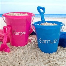 Personalized Sand Pail & Shovel - 18687