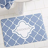 Personalized Memory Foam Bath Mats - Geometric - 18698