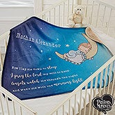 Precious Moments Personalized Baby Sherpa Blanket - 18715