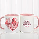Personalized Coffee Mugs - Our Hearts Combined - 18721