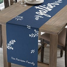 Personalized Table Runners - Cozy Home - 18739
