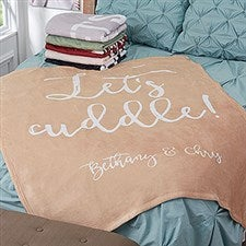 Fun Expressions Personalized Blankets - 18777