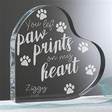 Personalized Pet Memorial Heart Keepsakes - 18794