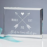Personalized Keepsake - Romantic Arrows - 18796