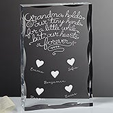 Personalized Keepsake - Grandchildren Fill Our Hearts - 18797
