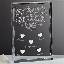 Personalized Keepsake - Grandchildren Fill Our Hearts - 18797
