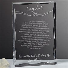 Personalized Keepsake - Always In Love - 18798