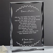 Personalized Keepsake - Forever A Mother Poem - 18799
