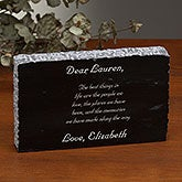 Engraved Marble Plaque - Add Any Text - 18804