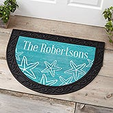 Beach House Personalized Half Round Doormat - 18839