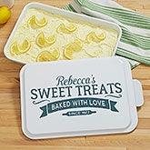 Personalized Cake Pan - Baked With Love - 18861