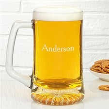 Personalized Beer Mugs - Monogram or Name - 18878
