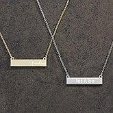 Custom Nameplate Necklace - Any Name - 18890