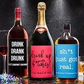Custom Liquor Labels - Write Your Own - 18906
