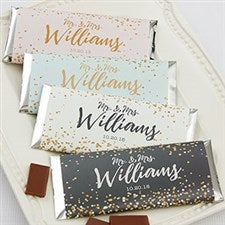 Sparkling Love Personalized Candy Bar Wrappers - 18920
