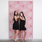 Step & Repeat Personalized Photo Backdrop - 18928
