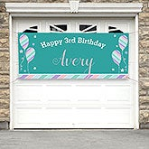 Personalized Birthday Party Banner - Birthday Girl - 18939