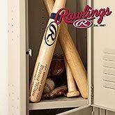 Personalized Rawlings Baseball Bat - Father of the Year - 18951