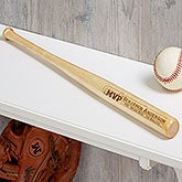 Engraved Mini Baseball Bat - MVP - 18953