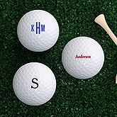Personalized Golf Balls - Set of 12 - Name or Monogram - 18971