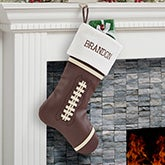 Personalized Football Christmas Stockings - 19007