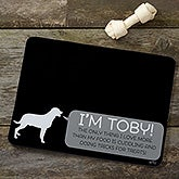 Personalized Dog Food Mat - Pet Life - 19033