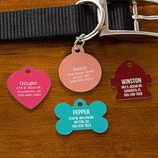 Personalized Dog Tags - Pet Expressions - 19035