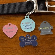 Personalized Dog Tags - Modern Arrow - 19036