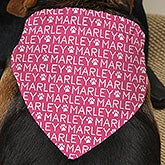 Personalized Dog Bandanas - Repeating Name - 19047