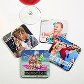 Personalized Photo Coasters - Photo Expressions - 19071