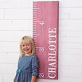 Personalized Canvas Growth Chart - Watch Me Grow - 19103