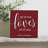 Personalized Shelf Decor - Romantic Gifts - 19126