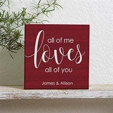 Personalized Shelf Decor - Romantic Gifts - 19126