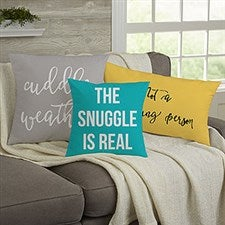 Personalized Throw Pillows - Fun Expressions - 19134
