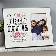 Home Is Where Mom Is Personalized Picture Frame - 19135