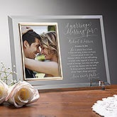Wedding Blessing Personalized Reflections Frame - 19142