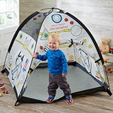 Personalized Kids Play Tent - Rocket Ship - 19148